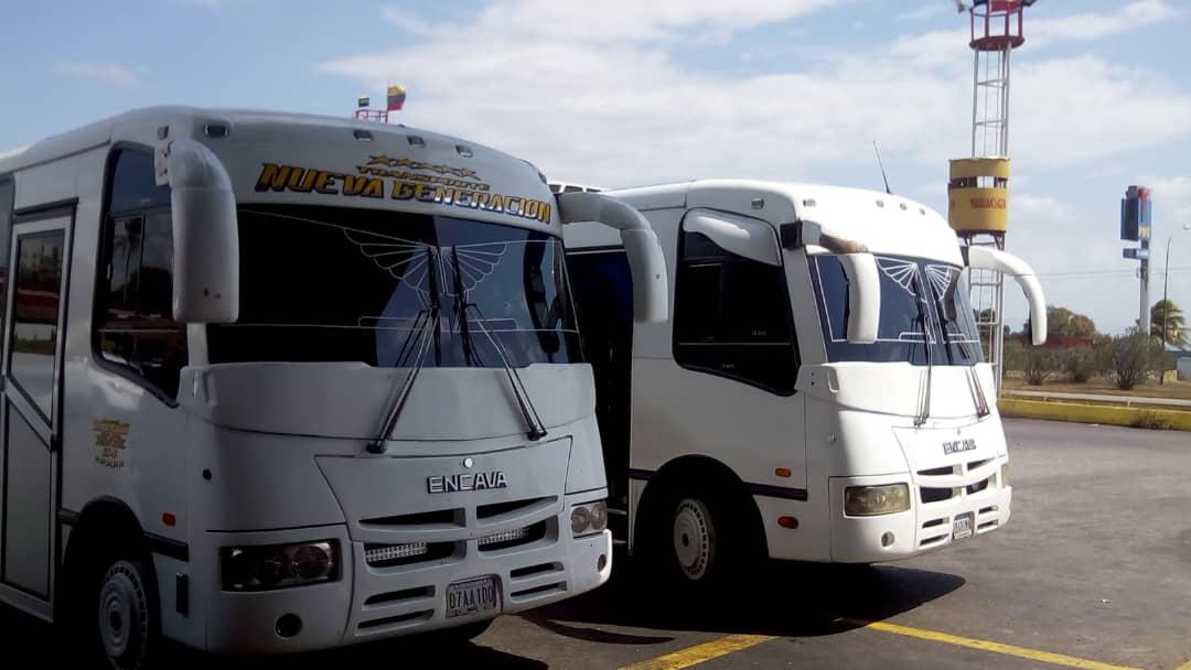 La flota de vehículos de  Viajes y turismo S.B.O.A. 030926 C.A., está compuesta por autobuses encava full equipo, y camionetas de lujo.